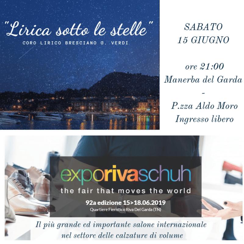"""""""Lirica sotto le stelle"""" ed Expo Riva Schuh: weekend di eventi sul Lago di Garda"""