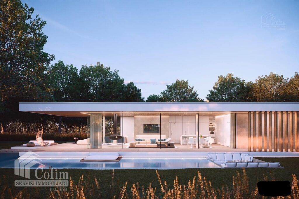 Villa moderna in costruzione con vista lago  Lazise